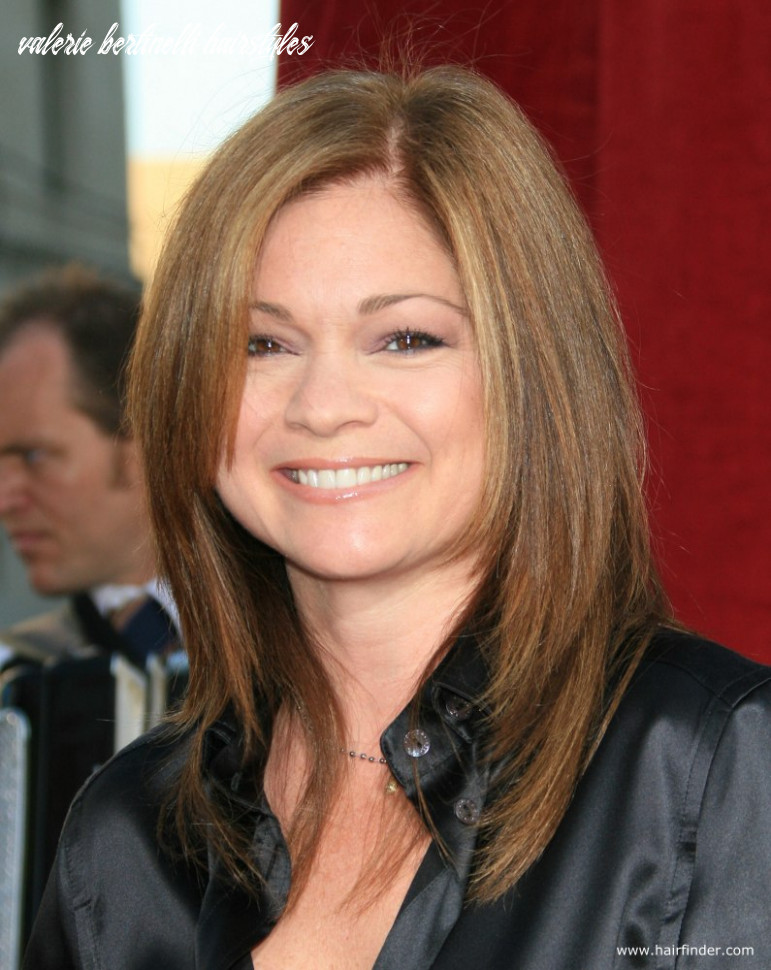 Valerie Bertinelli | Mid-length haircut for an over 8 years old woman