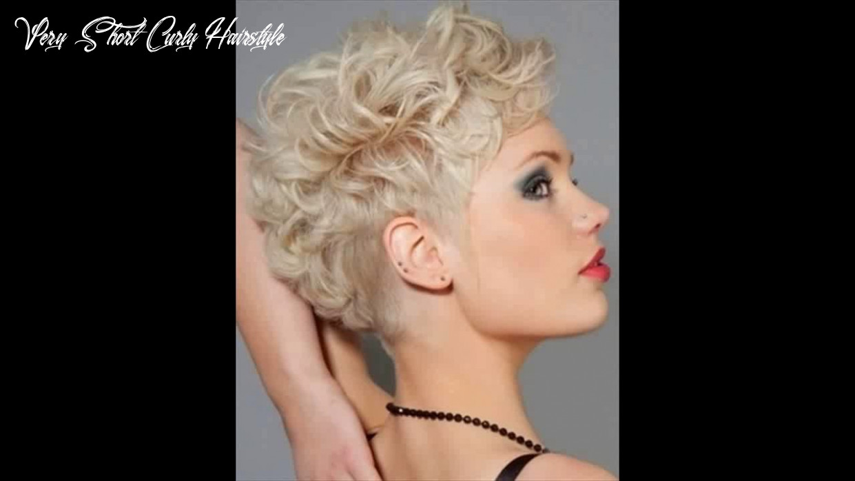 Very short curly hairstyles 8 youtube very short curly hairstyle