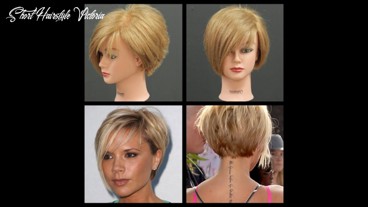 Victoria beckham inspired haircut tutorial | thesalonguy short hairstyle victoria