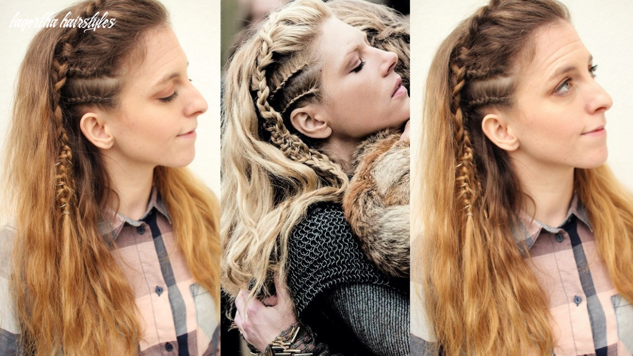 Vikings Inspired Lagertha Hair Tutorial | Viking Hairstyles |  Braidsandstyles11