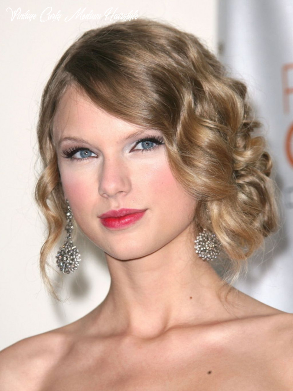 Vintage curly hairstyles that are really timeless | medium hair