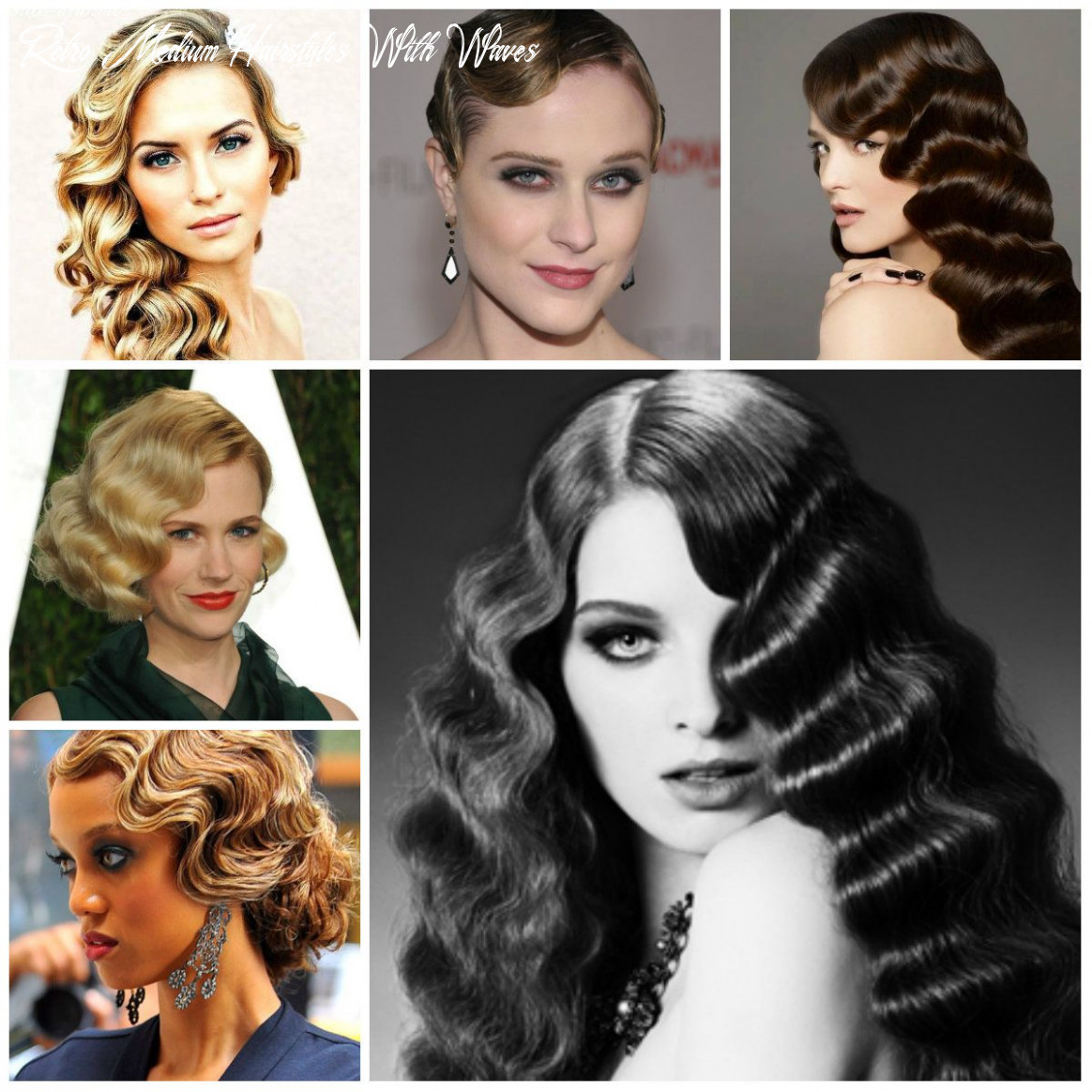 Vintage finger wave hairstyles to try in 11 | かわいい ヘア