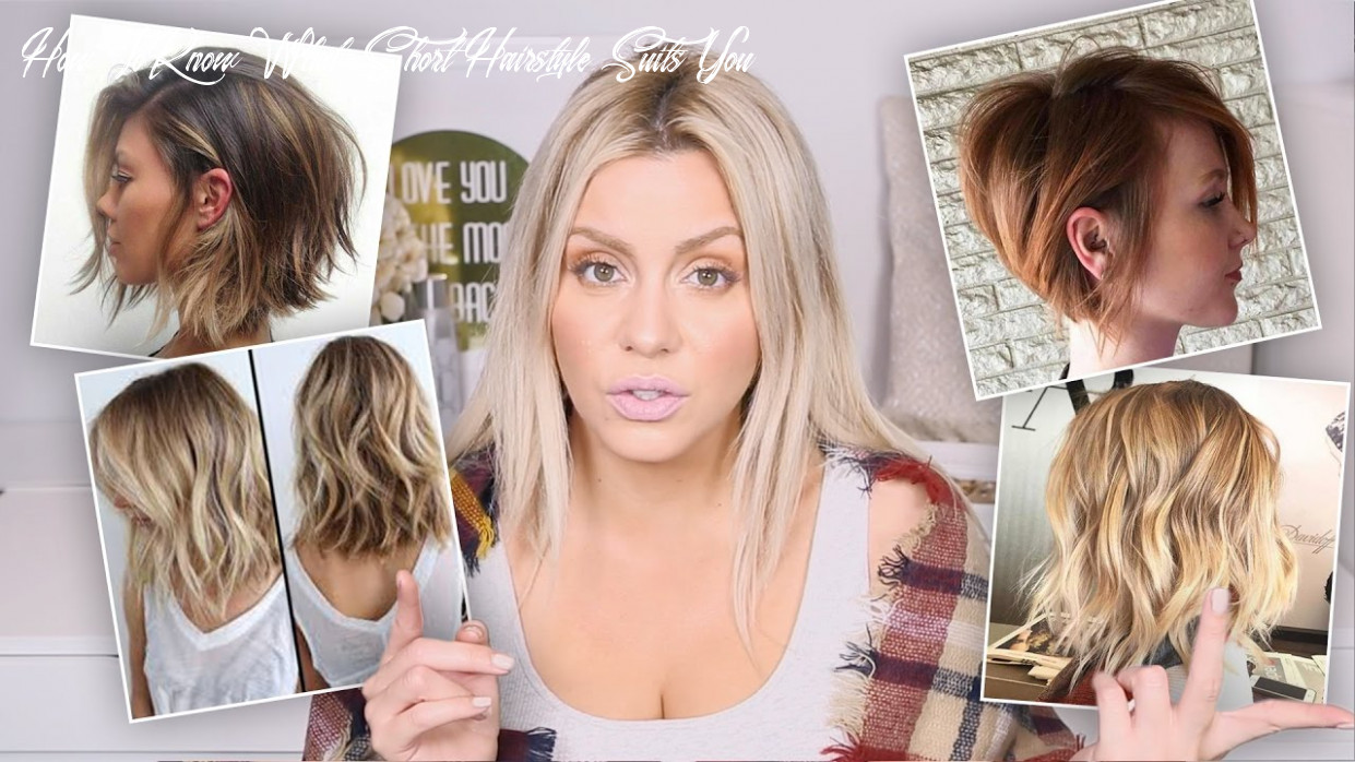 Watch this before you cut your hair! how to know what short hairstyle suits you