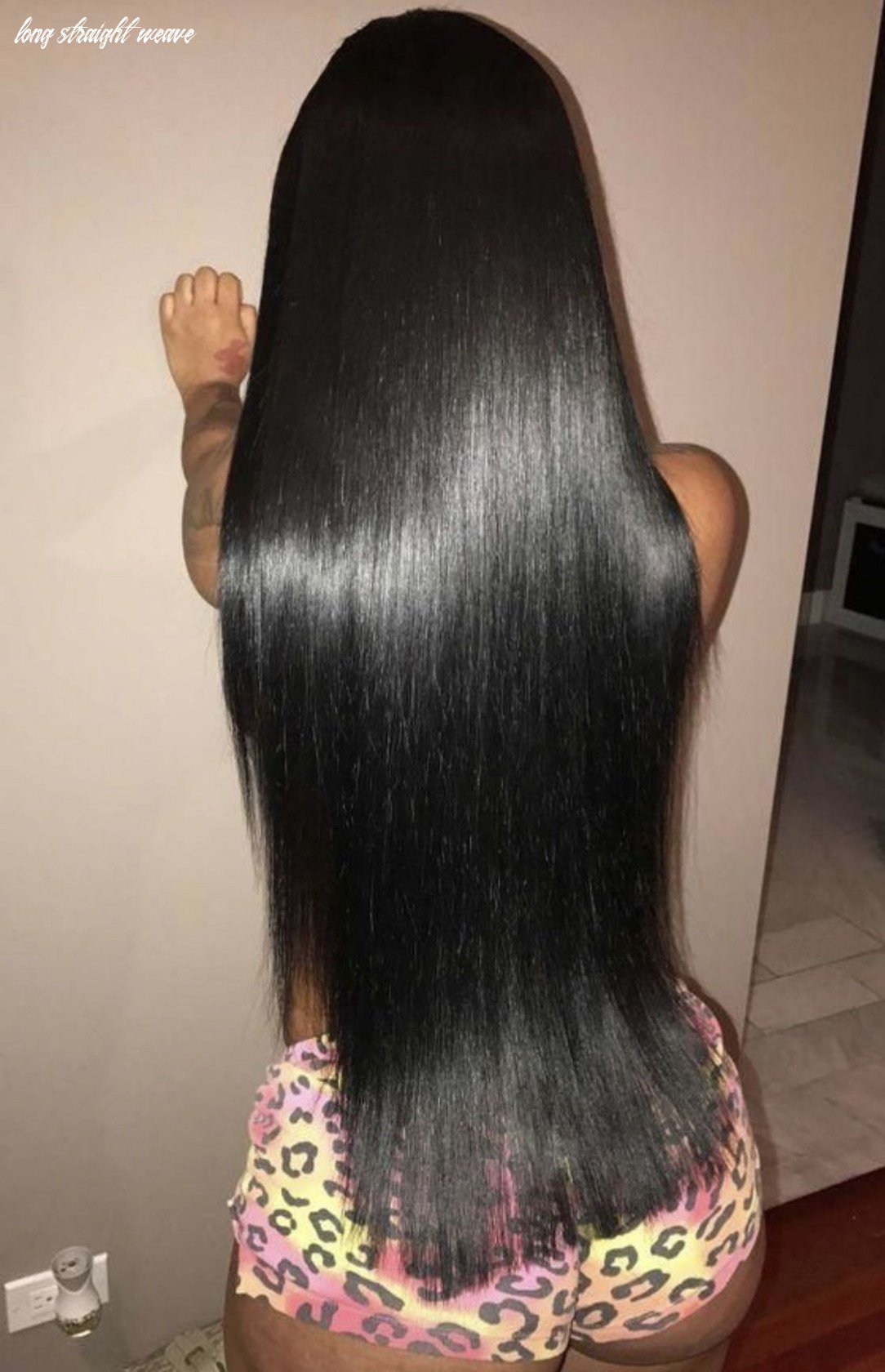 Weave hairstyles sew in for black women black long hair with