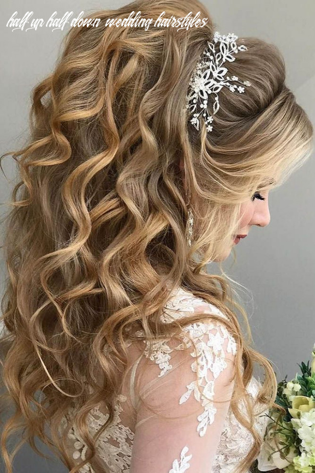 Wedding Hairstyles : 12 Half Up Half Down Wedding Hairstyles ...