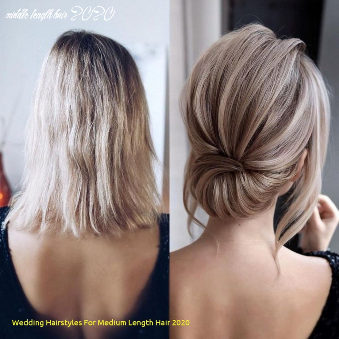 Wedding hairstyles for medium length hair 11 11 medium length