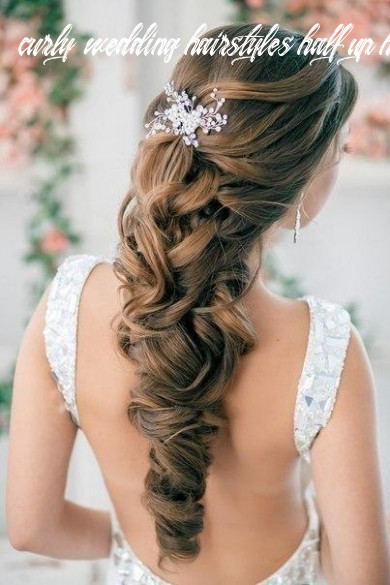 Wedding hairstyles half up half down curly curly wedding hairstyles half up half down
