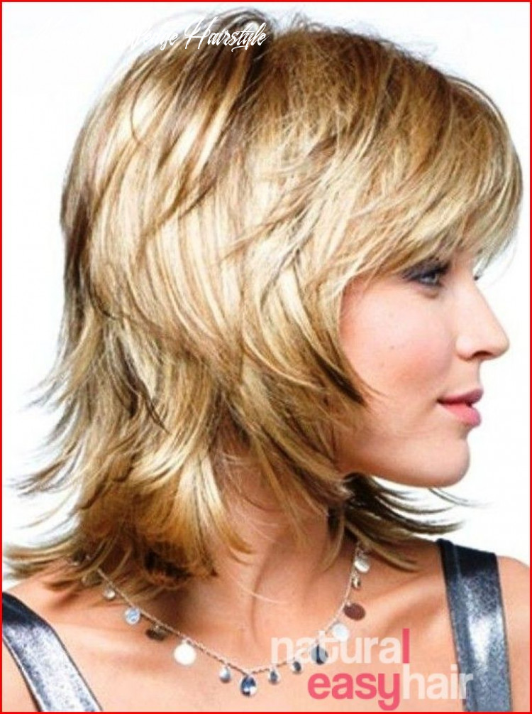 Wedge haircut combined with a variety of short to medium haircuts