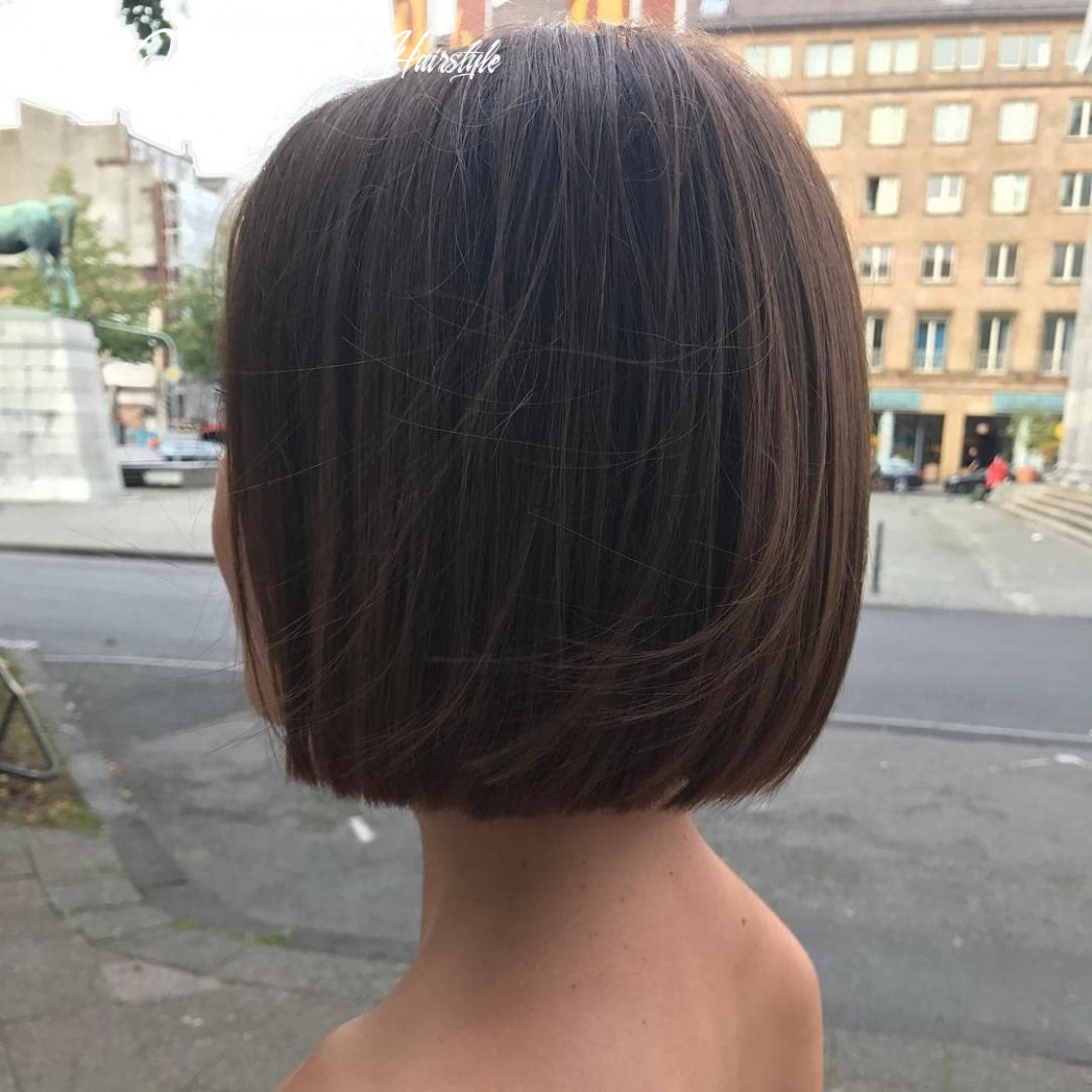 What a beautiful one length bob from @hair style aachen! are you