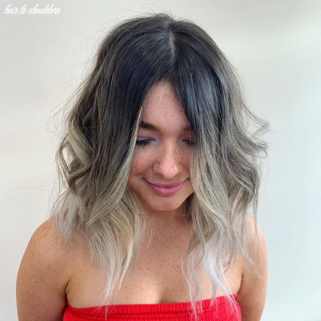 What hairstyles are best for wide/broad shoulders? hair adviser hair to shoulders