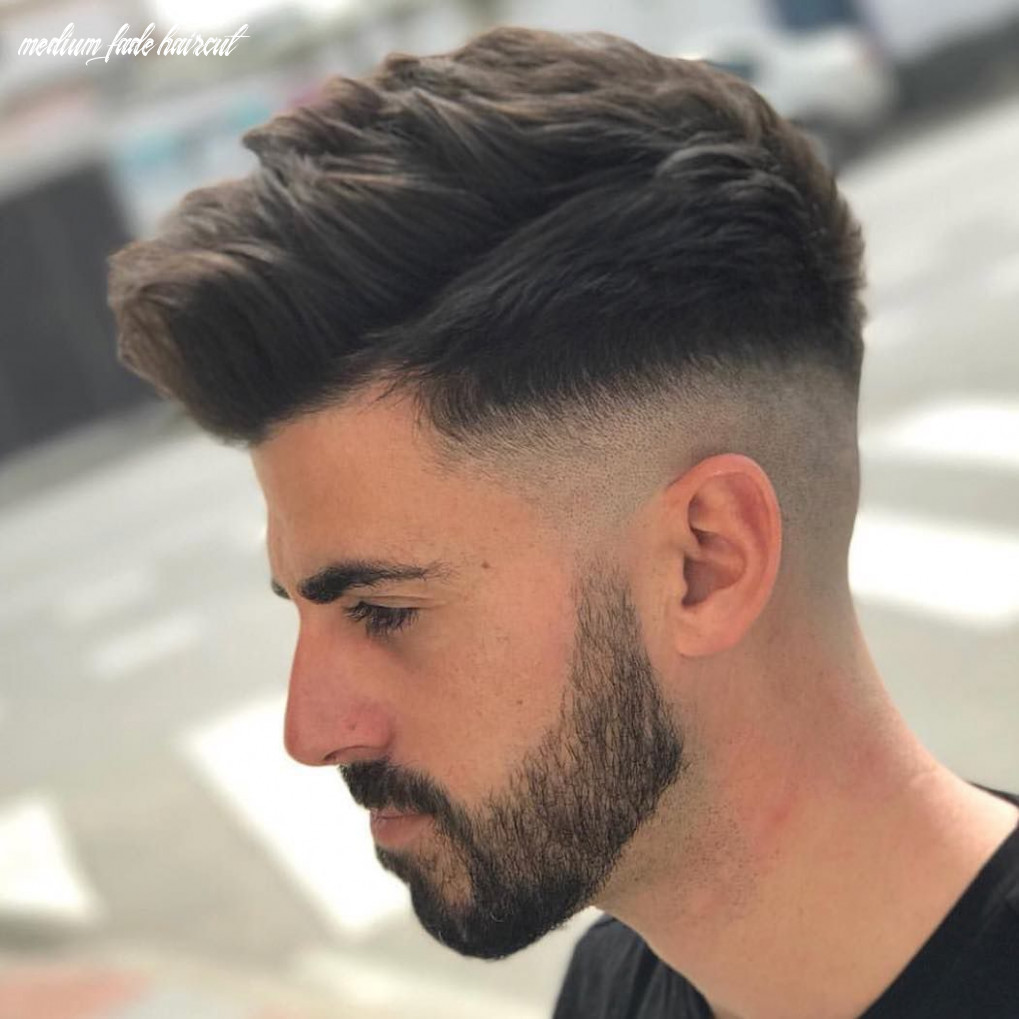 What is mid fade? 10 best medium fade haircuts | faded hair