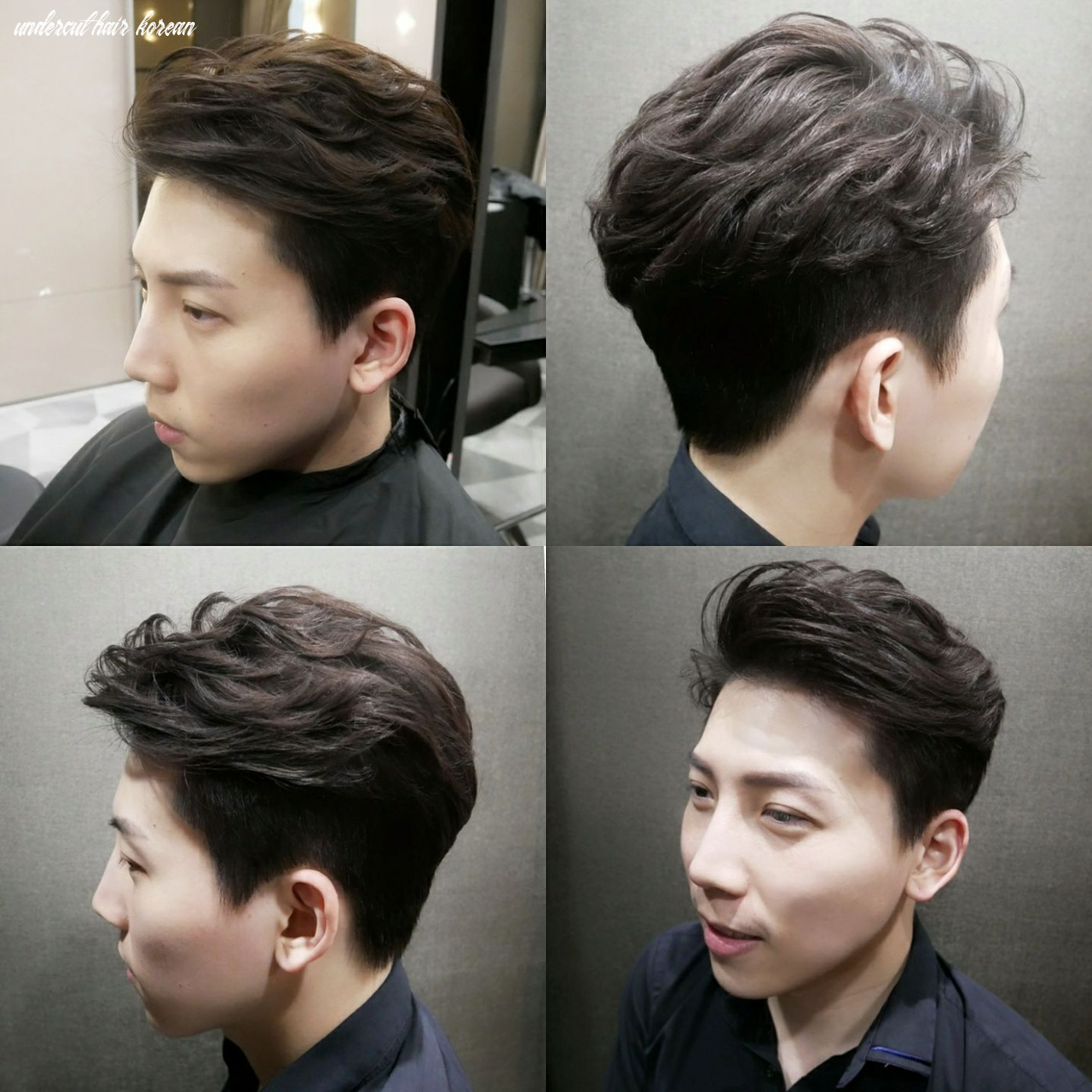 What is the two block haircut and why you should go for it undercut hair korean