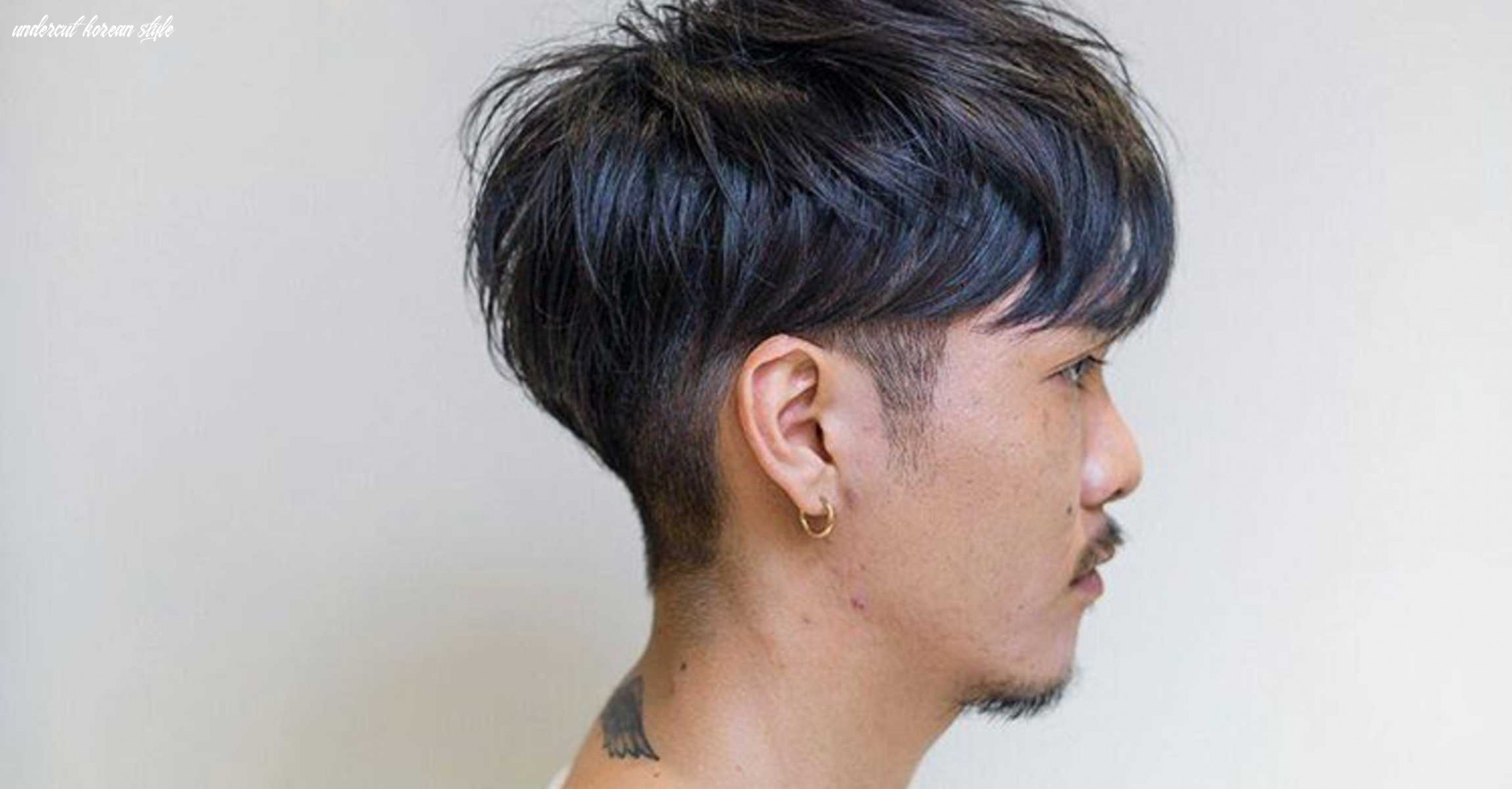 What is the two block haircut and why you should go for it undercut korean style