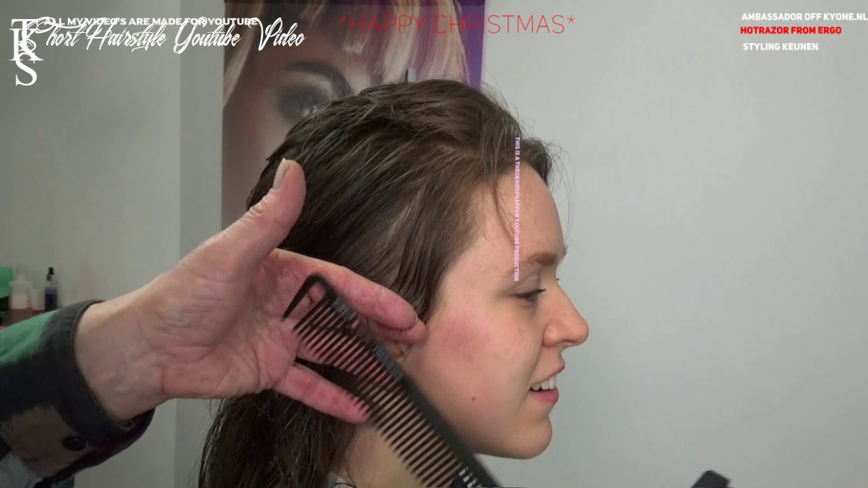 Who knows? the first step to a short hairstyle!!! mullet tutorial julie models t k