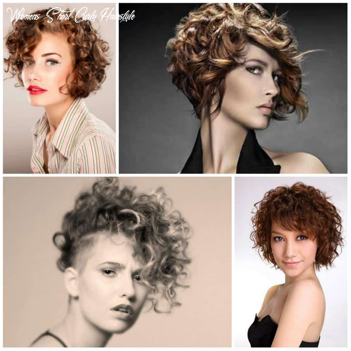 Women's Short Curly Hairstyles 1111
