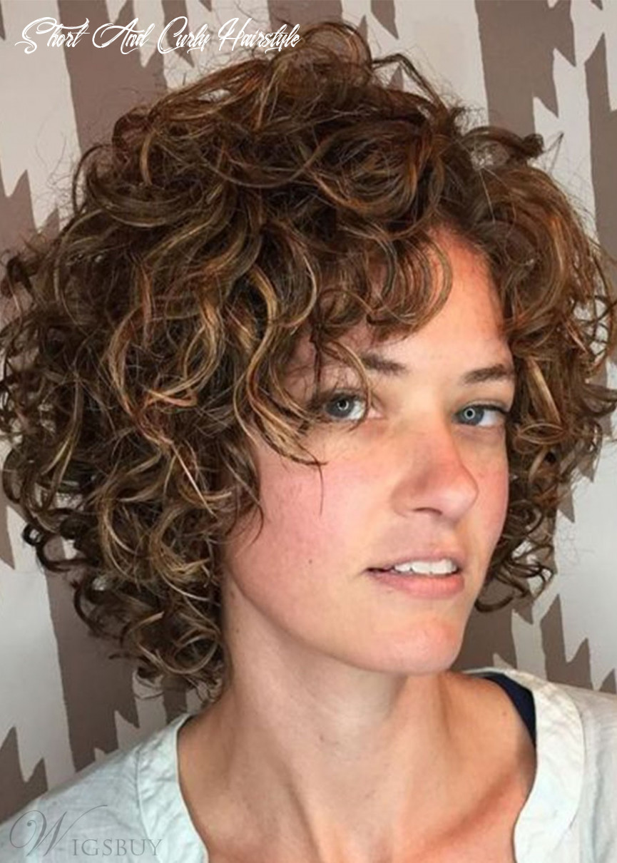 Women short curly hairstyles natural looking synthetic hair wigs rose 11% density capless wigs 11inch short and curly hairstyle