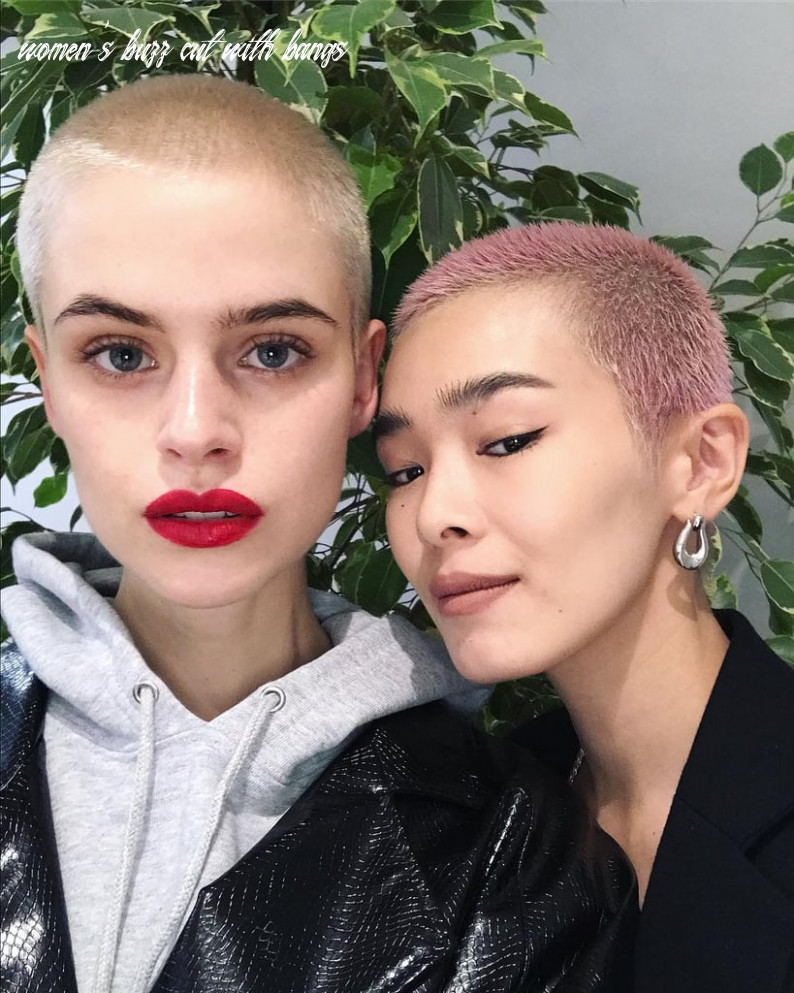 Women With Buzz Cut Hairstyles | POPSUGAR Beauty