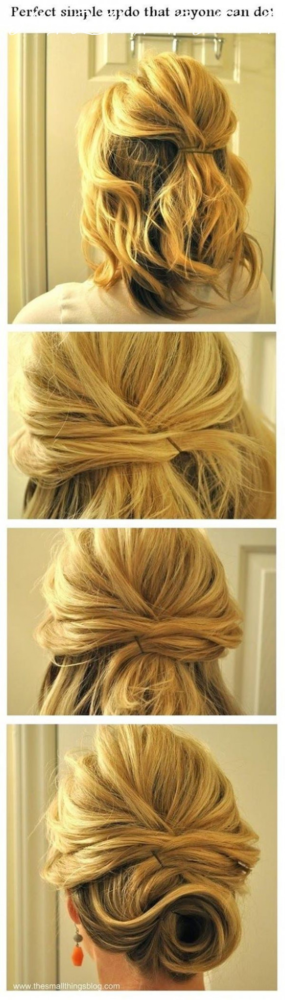Wondering How To Do A Messy Bun?