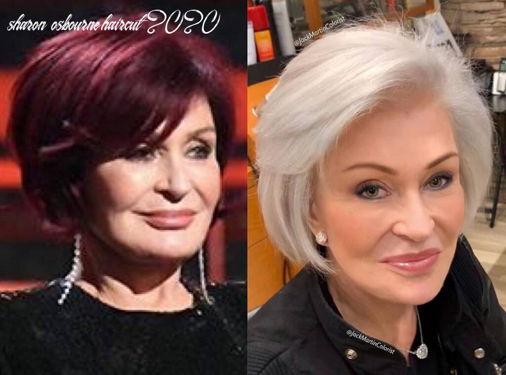 """You have to see sharon osbournes hair """"transformation"""" 12 years"""