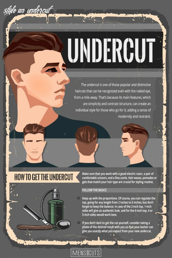 Your personal guide on how to get and style an undercut | undercut