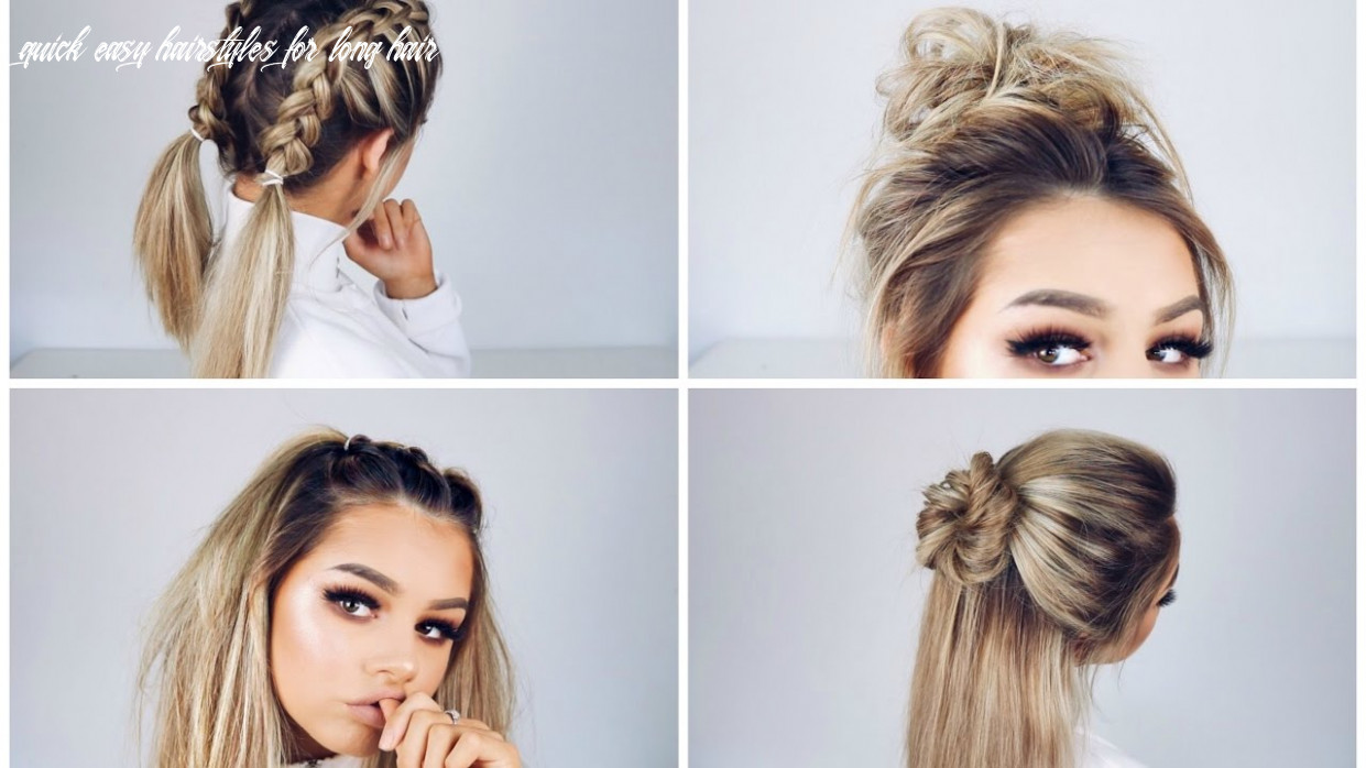 Youtube easy hairstyles for long hair hairstyles for women quick easy hairstyles for long hair