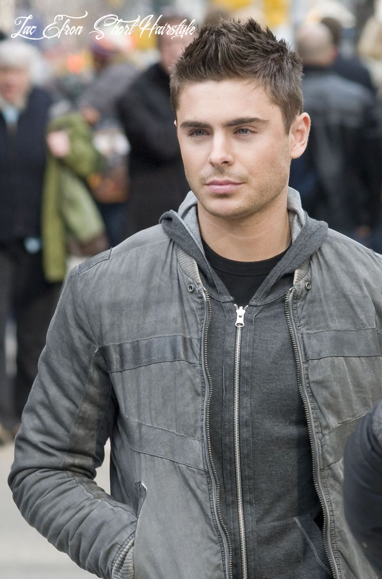 Zac efron short hair | from the national enquirer , print edition
